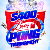 $400 Beer Pong Tournament @ Cappy's