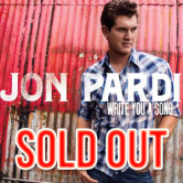 Jon Pardi @ Single Barrel
